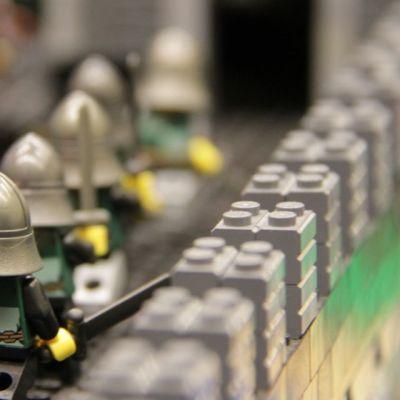 Legosotilaita.