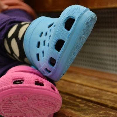 Crocksit jalassa