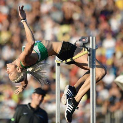 Erika Kinsey, Ruotsin korkeushyppylupaus