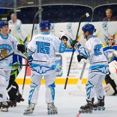 Suomi kaatoi Slovenian MM-avauksessa Tampereella