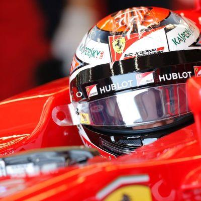 Kimi Räikkönen Montrealin GP:ssä