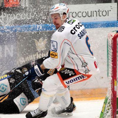 Tapparan puolustaja Pekka Saravo