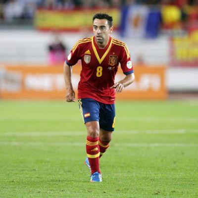 Xavi Hernandez espanja