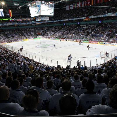 hartwall areena Suomi Saksa Leijonat MM-kisat