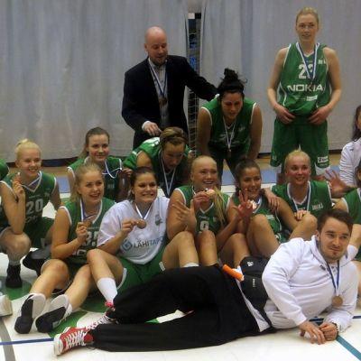 Tapiolan Hongan naiset juhlivat SM-pronssia