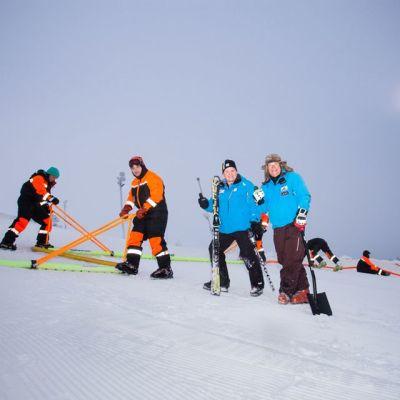 Levi Black alppihiihto Hans Pieren