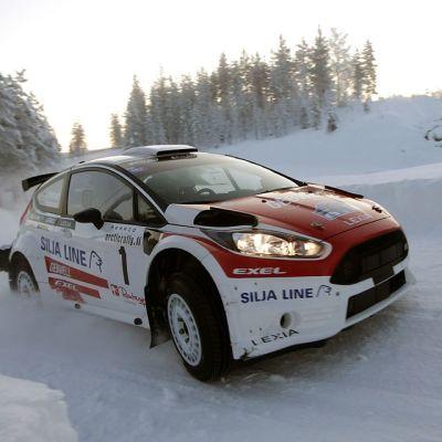 Heikki Kovalainen vauhdissa
