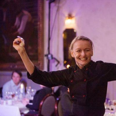 Tanssiva kokki Liisa Ruuskanen