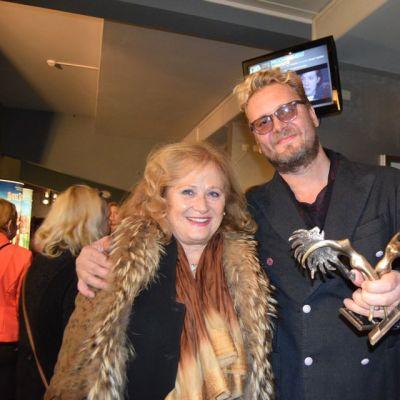 Antti J. Jokinen ja Katia Tchenko, Waterloon festivaalin juryn jäsen