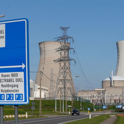 Doelin ydinvoimala Belgiassa.
