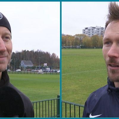 Mikko Hyyrynen ja Henri Lehtonen.