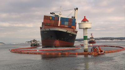 Fraktfartyget Godafoss