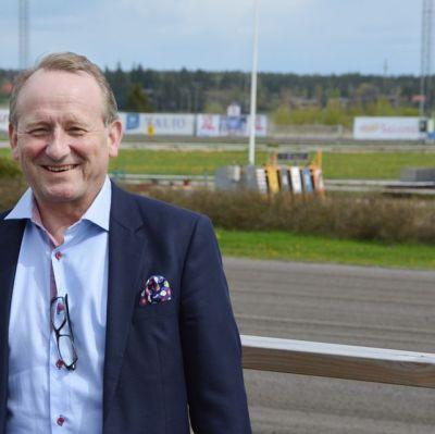 Ilmari Halinen är ny vd för travbanan i Skogsbacka i Åbo.