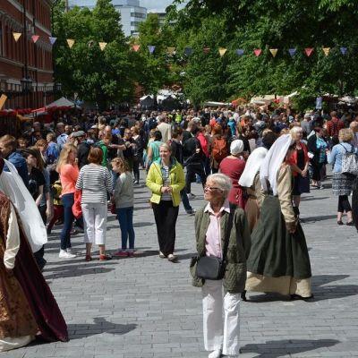 Medeltida marknaden i Åbo 2015