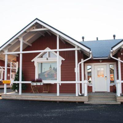Asiakkaiden antamien pisteiden mukaan Joulupukin lomakylä on Rovaniemen paras majoituspaikka.