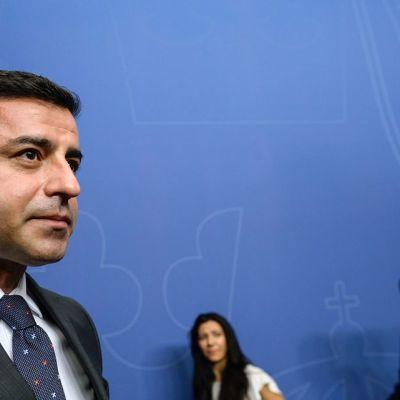 Turkin kurdimielisen Kansojen demokraattisen puolueen (HDP) johtaja Selahattin Demirtas.