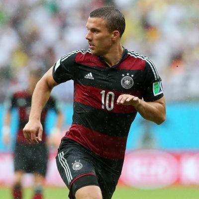 Saksan hyökkääjä Lukas Podolski