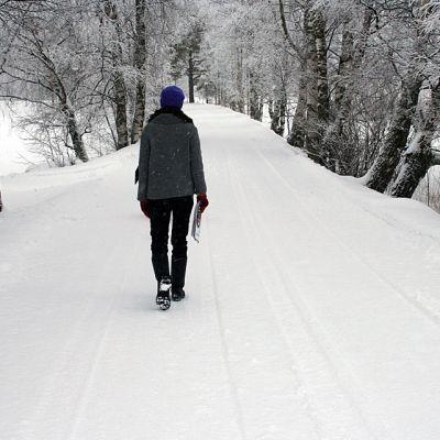 Riikka Keränen asuu nykyisin Ristijärvellä.