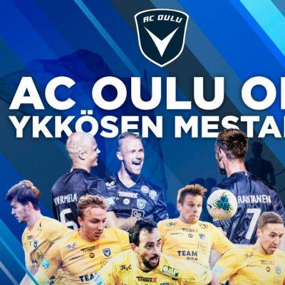 AC Oulu pelasi loistokauden 2020 Ykkösessä.