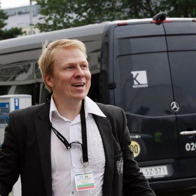 HJK:n toimitusjohtaja Aki Riihilahti.