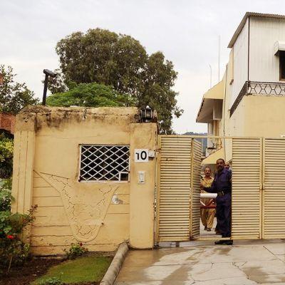 Pelastakaa lapset -järjestön toimisto Islamabadissa 6. syyskuuta 2012.