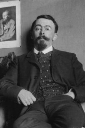 Den franska författaren Charles-Louis Philippe ca 1905.