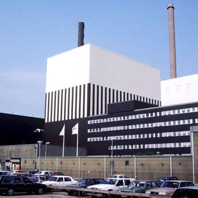 Oskarshamnin ydinvoimala.