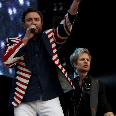 Duran Duran esiintyi Hyde Parkin konsertissa.