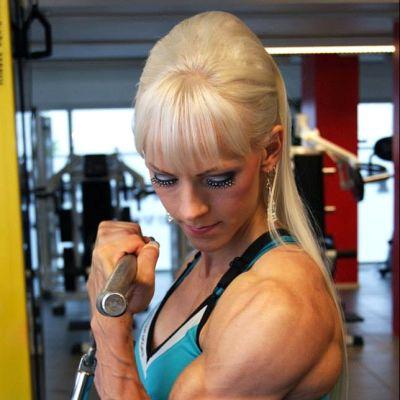 Bodyfitness-urheilija Hanna Autti