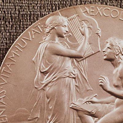 Yksityiskohta kirjallisuuden Nobel-palkinnosta.