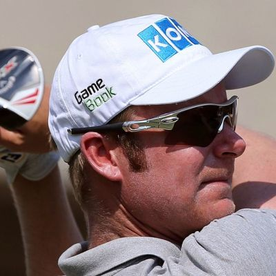 Golfari Mikko Ilonen lähikuvassa.