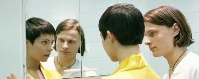 Sanna (Eva Hankalin) och Mika (Paavo Kerosuo) Full House, Yle 1996