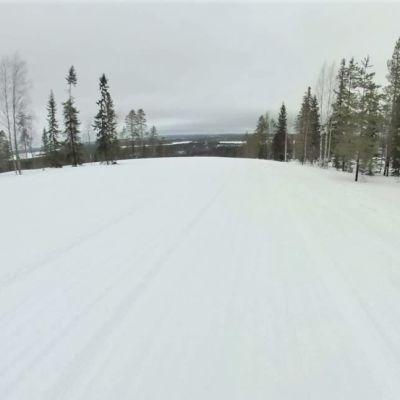 Latumaisemaa Ristijärven Saukkovaaralla.