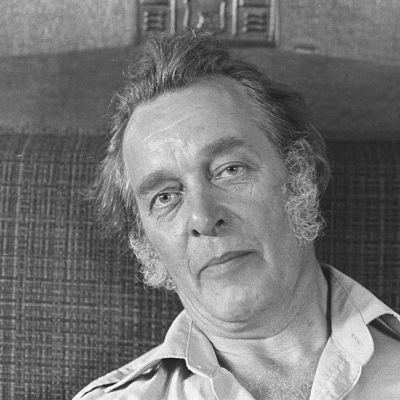 Olavi Lanu kotonaan Lahdessa vuonna 1978.