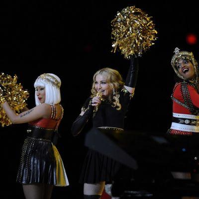 M.I.A Super Bowl, Madonna