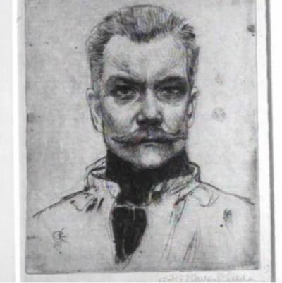 Gallen-Kallelan omakuva.