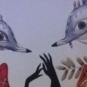 Designet Den listiga lilla räven av Klaus Haapaniemi