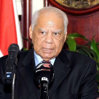 Egyptin väliaikaisen hallituksen pääministeri Hazem el-Beblawi