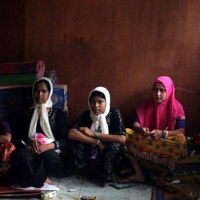Rohingat indonesian pakolaisleirillä