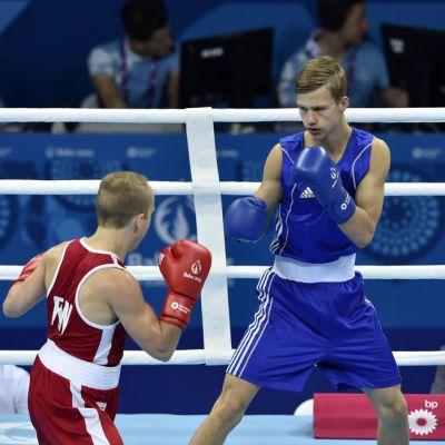 Matti Koota Bakun Euroopan kisoissa 2015.