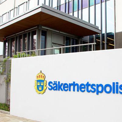 Ruotsin turvallisuuspoliisin toimipiste Solnassa.
