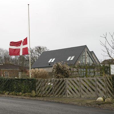 Valokuva on otettu 1. tammikuuta Assensin kylässä Tanskassa.