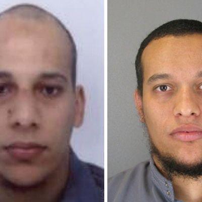 Ranskan poliisin julkaisema kuva Charlie Hebdon iskun tekijöiksi epäillyistä veljeksistä Cherif Kouachista (vas.) ja Said Kouachista.