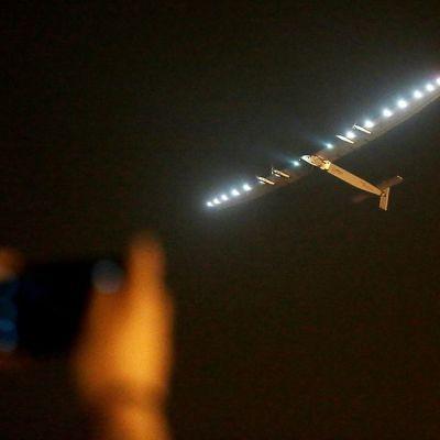 Solar Impulse 2 nousi Nanjingin kentältä.
