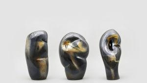 En skulptur i glas av Egs.
