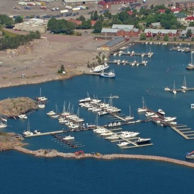 Östra hamnen i Hangö