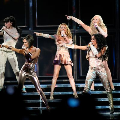 Spice Girls esiintyi yhdessä ensimmäistä kertaa 1998 jälkeen Vancouverissa 2. joulukuuta 2007.