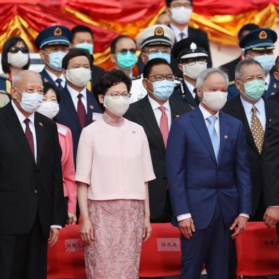 Kiinan hallinnon vuosipäivä Hongkongissa.