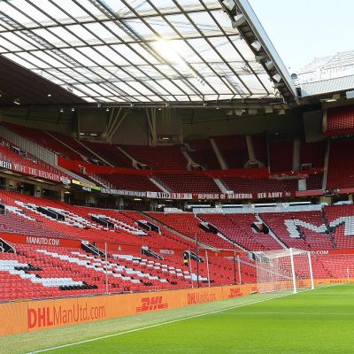 ManU-stadion Old Trafford kuvassa