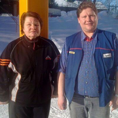 Maire Karhunen ja Juha Leminen